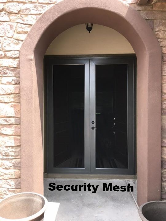 Elegante\u0027 Full View Security Screen Door & Sun Control \u0026 Security Products by Day Star Screens - Security ...