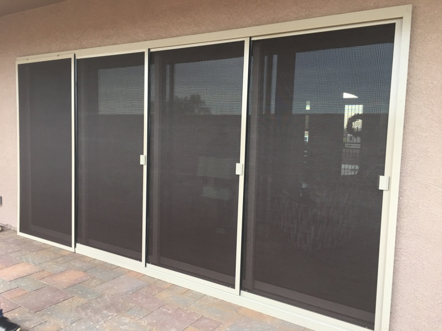 Wall Of Patio Sliding Screens