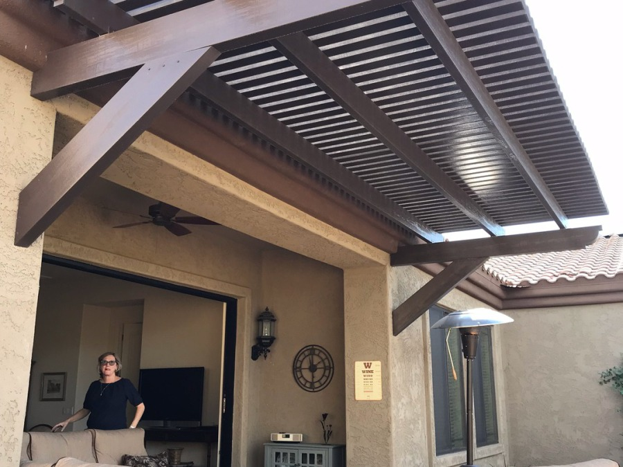 Aluma Lattice Patio Cover